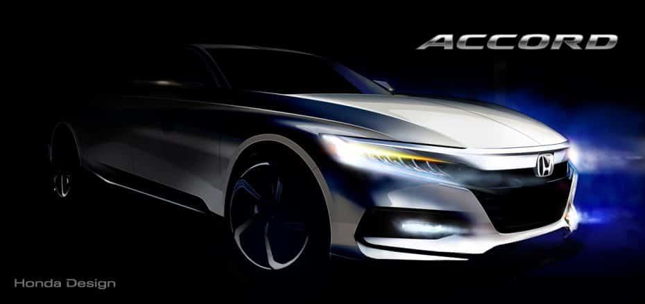 La nueva generación del Honda Accord se presentará el próximo 14 de julio