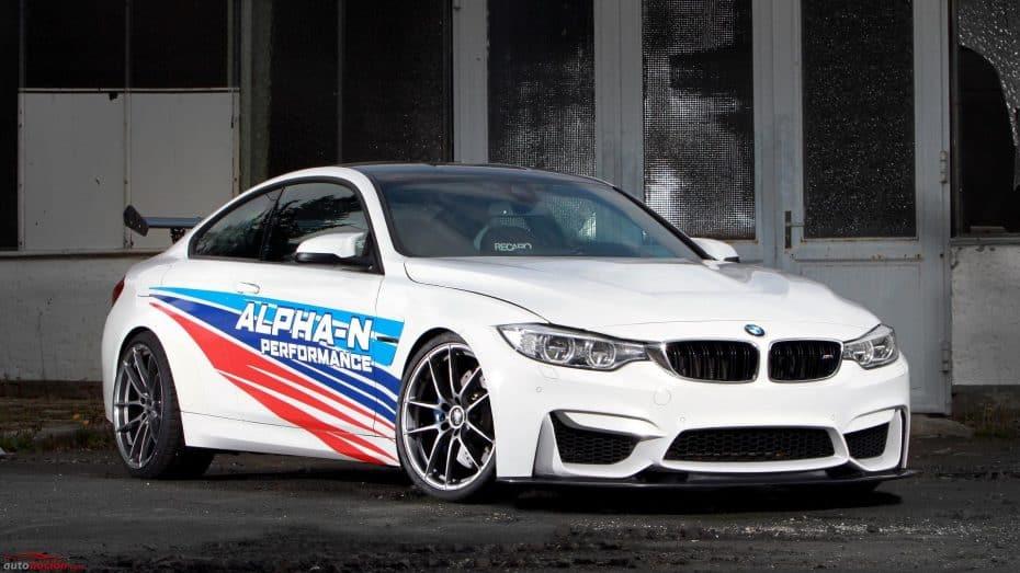 Alpha-N Performance ha creado un BMW M4 más rápido en Nürburgring que el GTS