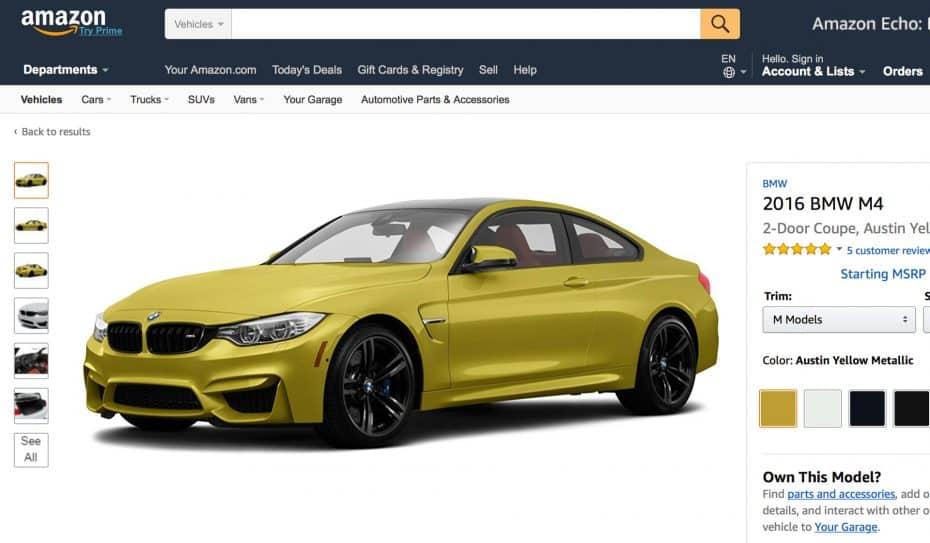 Amazon se prepara para empezar a vender coches en Europa ¿Es el fin de los concesionarios?