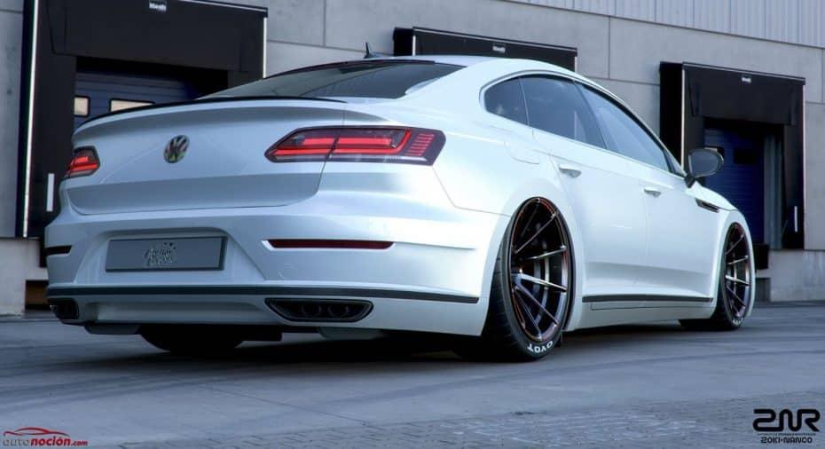 El «tuning» también le sienta muy bien al Volkswagen Arteon, ¿no?