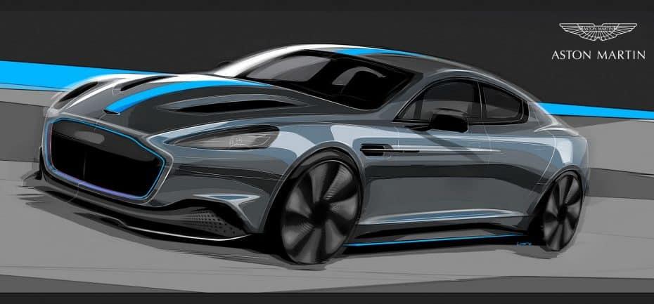 Confirmada la producción del RapidE: El primer Aston Martin 100% eléctrico