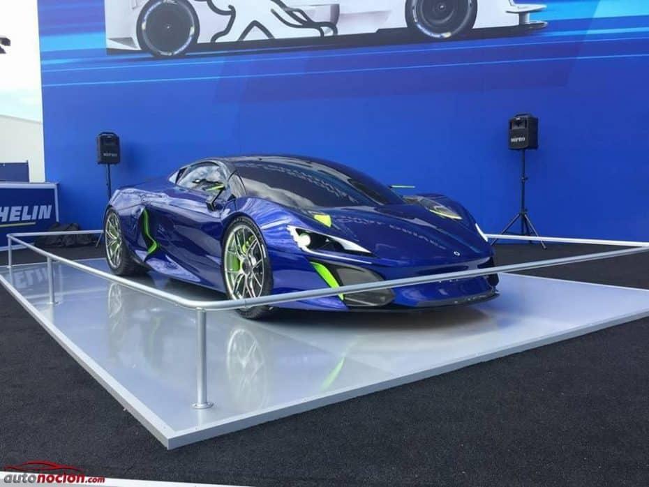 Bóreas tiene en el punto de mira al P1 y el La Ferrari: Ojo a este superdeportivo híbrido español de 1.000 CV