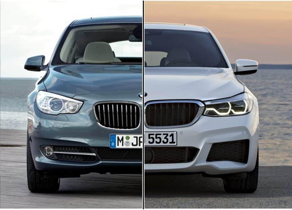 Comparación visual: ¿Ha cambiado suficiente el BMW Serie 5 GT para llamarse BMW Serie 6 GT?