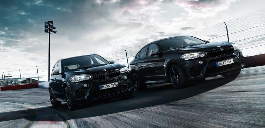BMW X5 M y X6 M Black Fire Edition: ¡575 CV para apostar todo al negro!