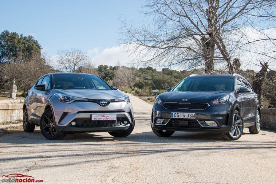 Kia Niro 1.6 HEV Motion vs. Toyota CH-R 1.8 'Launch Edition': Batalla de híbridos por conquistar la urbe