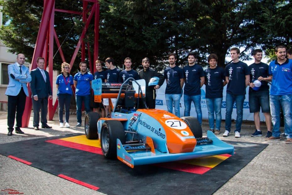 Así es el monoplaza «Formula Student 2017» de UPM Racing ¡Listo para conquistar Silverstone!