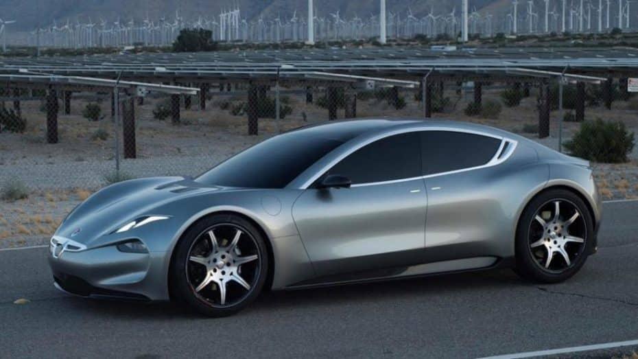 El Fisker EMotion será construido con la tecnología de Tesla: Adiós a las baterías de grafeno