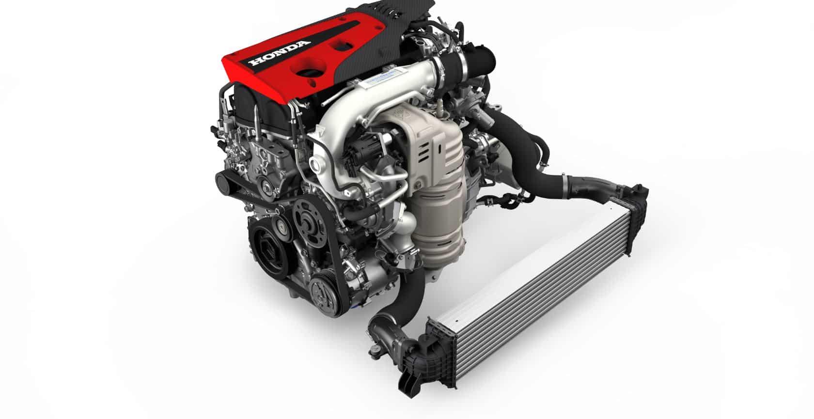 Foto de un motor VTEC al completo