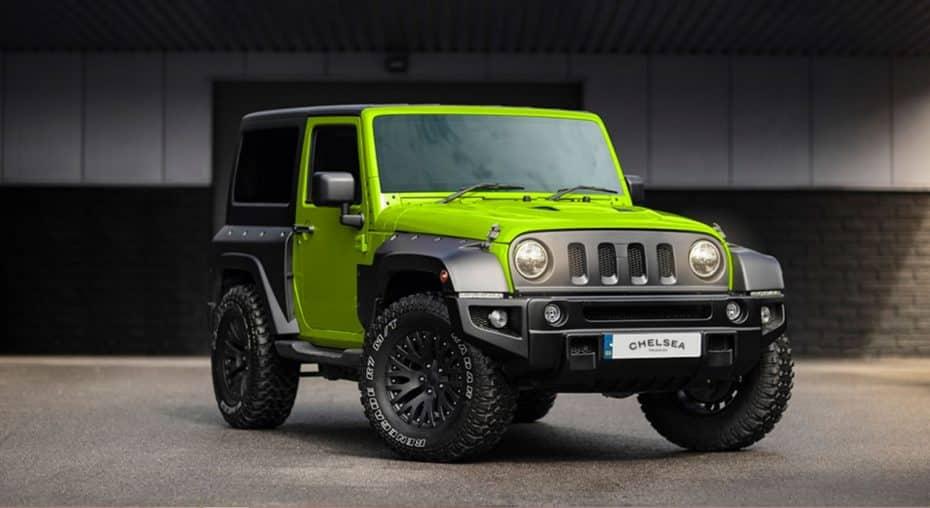 Un Jeep Wrangler con un toque a lo 'Hulk': Así es la última creación de Kahn Design