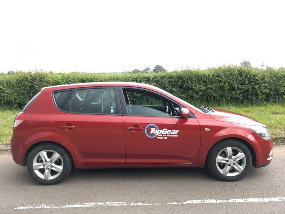 Si eras fan de Top Gear seguro que recuerdas este Kia Cee´d tan especial… ¡Y ahora está a la venta!
