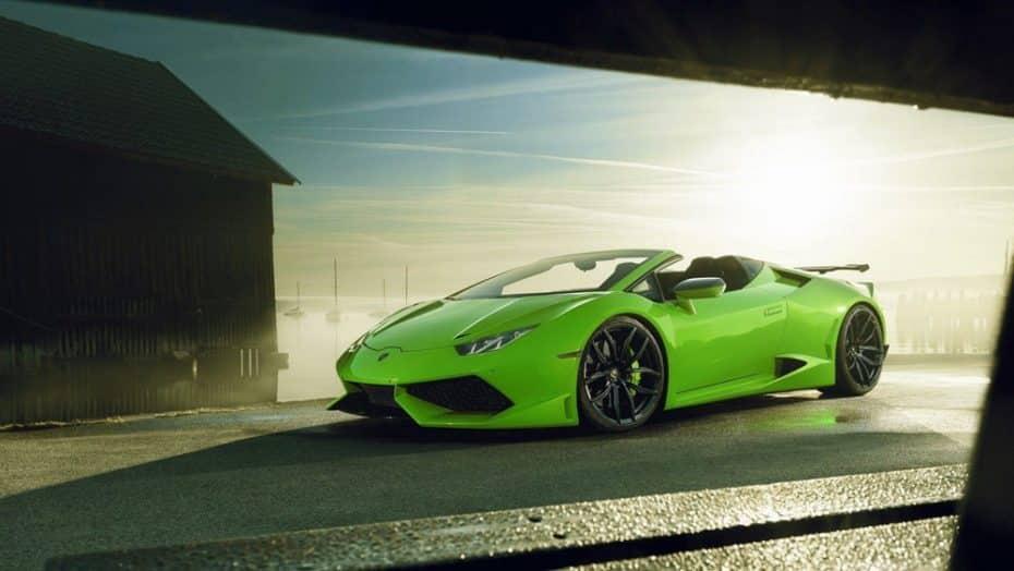 La última bestia de Novitec es un Lamborghini Huracán Spyder ensanchado ¡Con 870 CV en sus entrañas!
