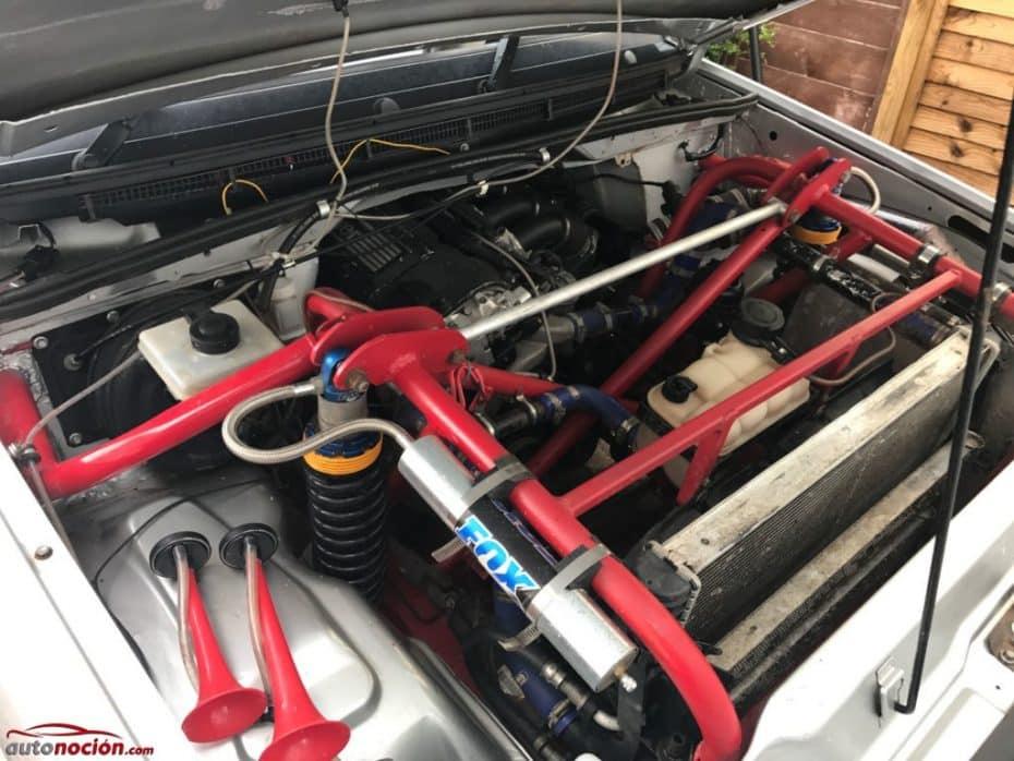 ¿Un Land Rover Discovery con el motor de un BMW M3? Sí, existe y es único