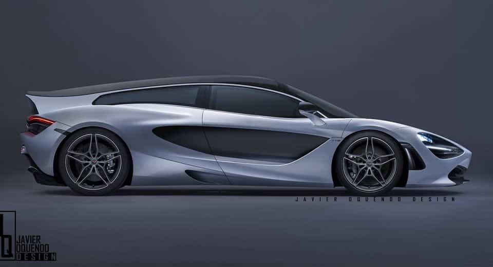 ¿Un McLaren 720S Shooting Brake? Una fantasía que tiene muy buena pinta…
