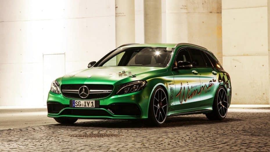 ¡Volarás con toda la familia! Este Mercedes-AMG C63 S Estate es más potente que un Ferrari F12tdf