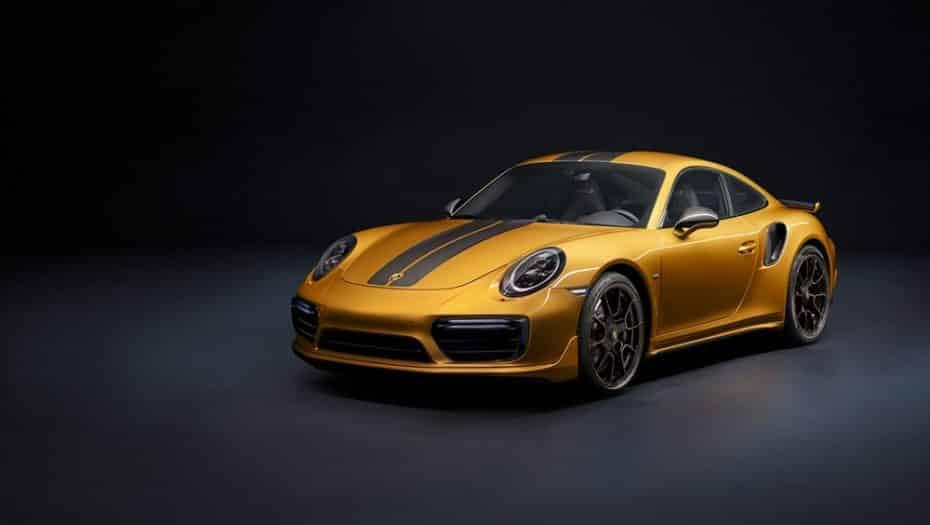 Porsche 911 Turbo S Exclusive Series: La crème de la crème de los nueveonce alcanza los 607 CV y 750 Nm