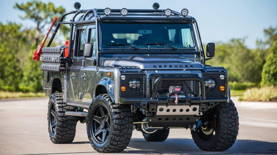 'Project Viper': Así es el monstruoso Land Rover Defender de ¡Más de 250.000 euros!