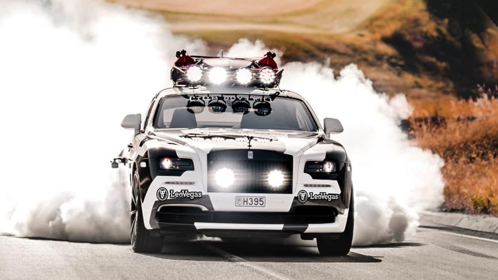 Ojo al último juguete de Jon Olsson: Un Rolls-Royce Wraith de nada menos que 810 CV