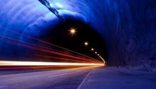 Estos son los 10 túneles de carretera más largos del mundo ¡En algunos incluso hay rotondas!