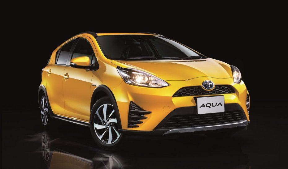 El Toyota Aqua se pone al día: De momento para Japón