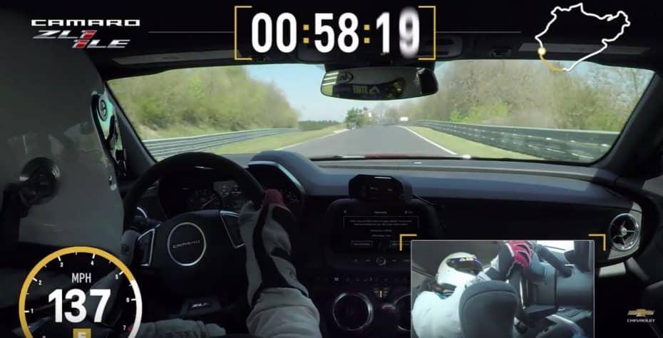 El Camaro ZL1 1LE ya tiene tiempo en Nürburgring: ¿Quién dijo que los americanos eran lentos?