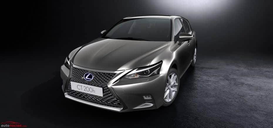 El Lexus CT200h recibe otra actualización: Y ya van unas cuantas