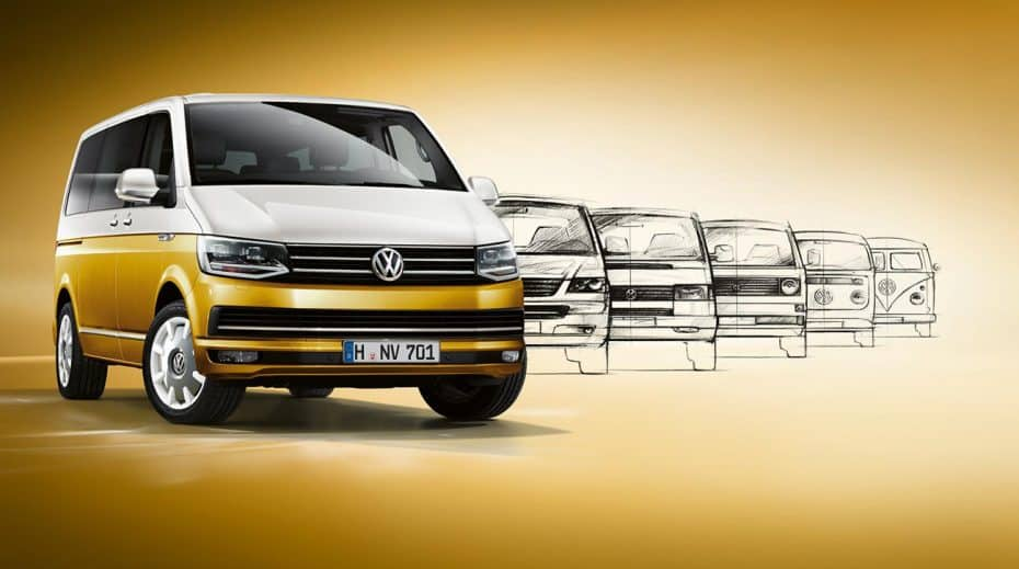 Nuevo Volkswagen Multivan «Bulli 70th»: Homenaje al original