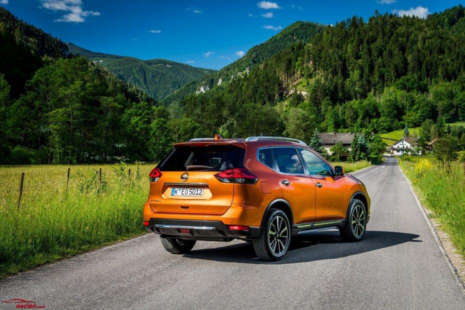 El renovado Nissan X-Trail, también disponible en julio