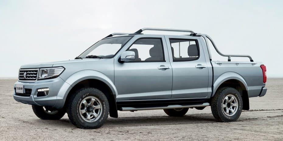 Primeras imágenes del nuevo Peugeot Pick Up: ¿Diseñado hace 20 años?