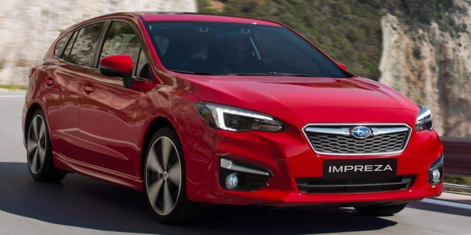 Primeras imágenes del nuevo Subaru Impreza para el mercado europeo
