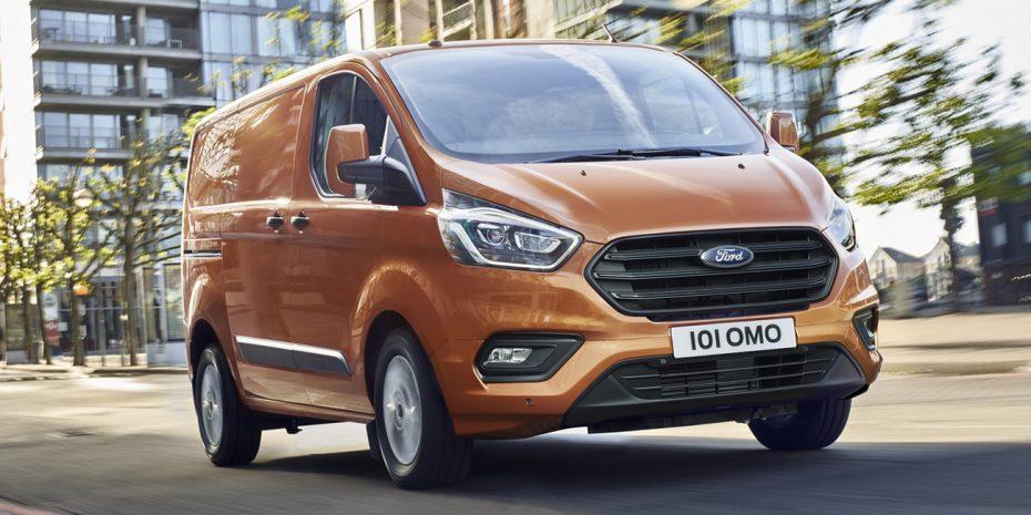 El Ford Transit Custom también se pone al día