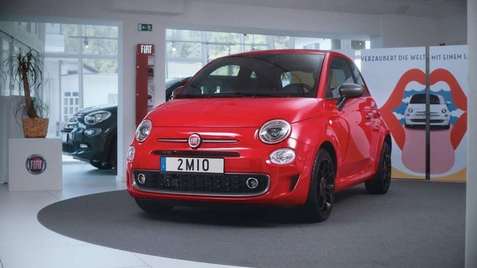 Fiat entrega la unidad dos millones del pequeño 500