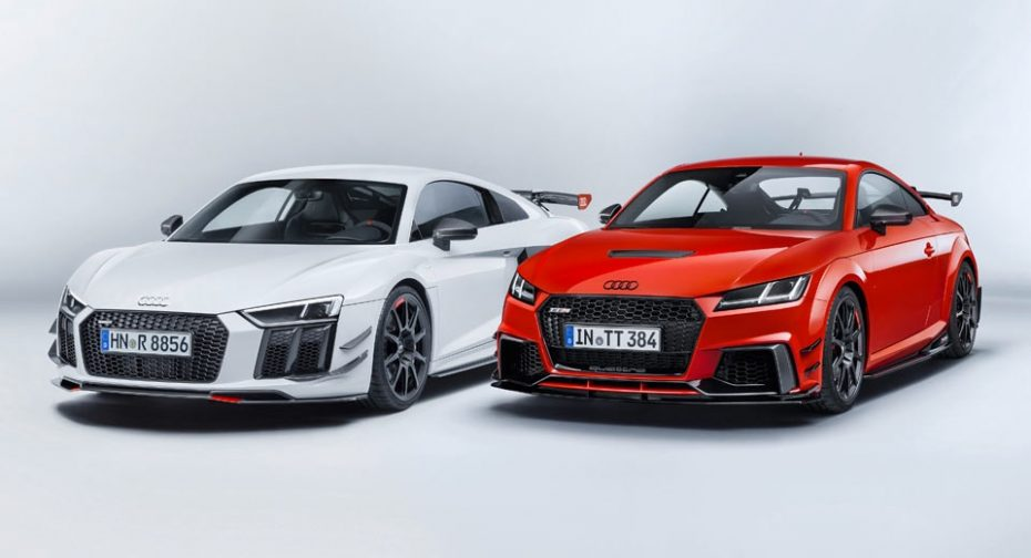 Los Audi TT y Audi R8 ahora más salvajes gracias a las Sport Performance Parts