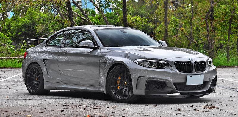 Manhart y un BMW M235i, la mezcla perfecta para crear una bestia del asfalto
