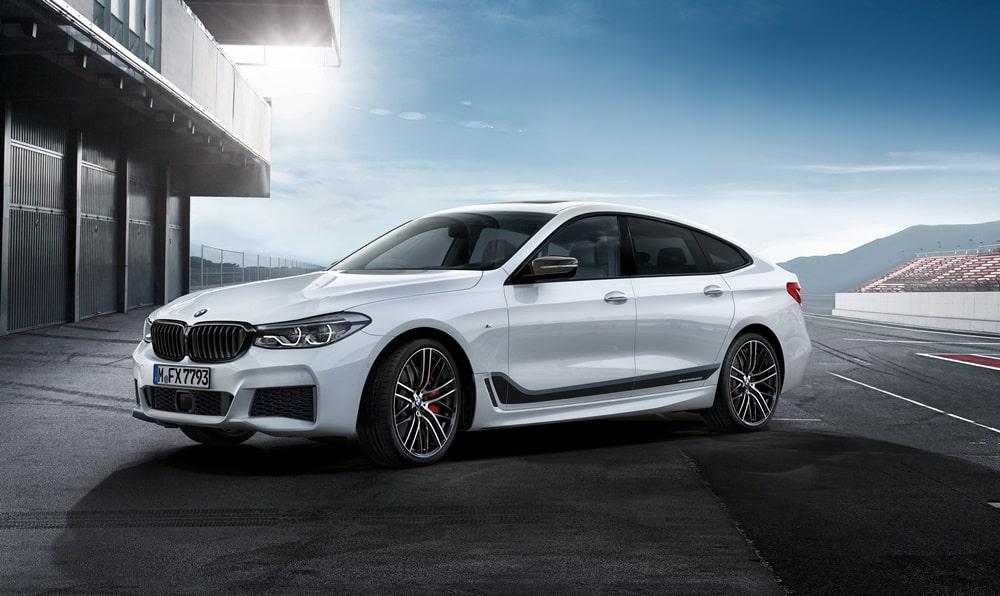 La cara más salvaje y deportiva del BMW Serie 6 GT llega de la mano de los accesorios M Performance