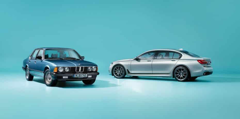 """BMW Serie 7 """"40 Jahre"""": 200 unidades muy refinadas que representan la importancia del número 7…"""
