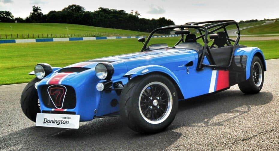 Caterham Seven 420R 'Donington Edition': Seven cumple 60 años y lo celebra a lo grande