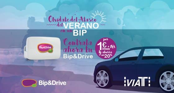 Bip&Drive nos da una solución para el atasco del verano