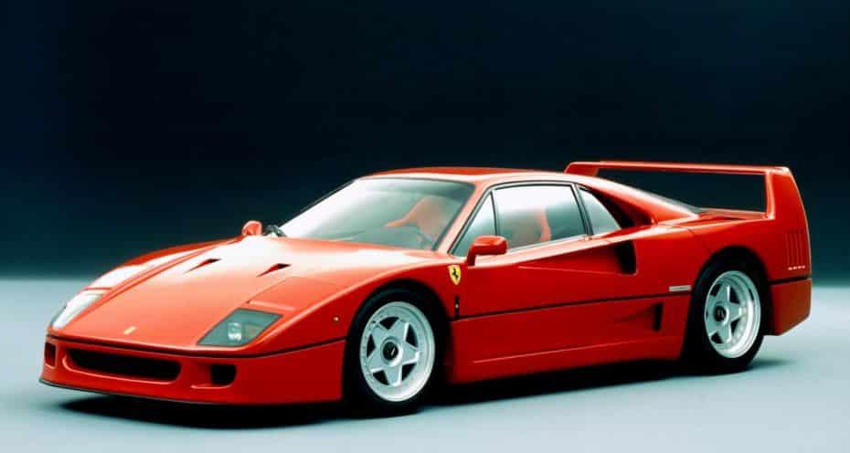 El Ferrari F40 cumple 30 añitos y estos son sus padres…