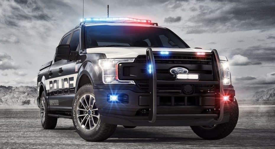 ¿El coche de policía definitivo? Con este Ford F-150 2018 'Police Responder' no querrás pasarte al lado oscuro…