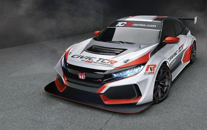 El Honda Civic Type R también tendrá una picante versión TCR: Debutará en 2018