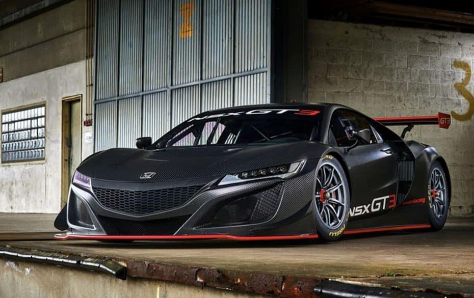 Arranca la comercialización del Honda NSX GT3 desde 375 euros el kg…