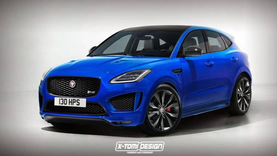 ¿Qué te parece este Jaguar E-Pace SVR? Viendo la competencia no sería una idea descabellada…