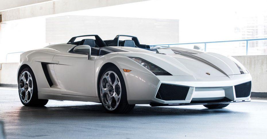 Este Lamborghini Concept S es un one-off único y exótico ¡Y ahora puede ser tuyo!
