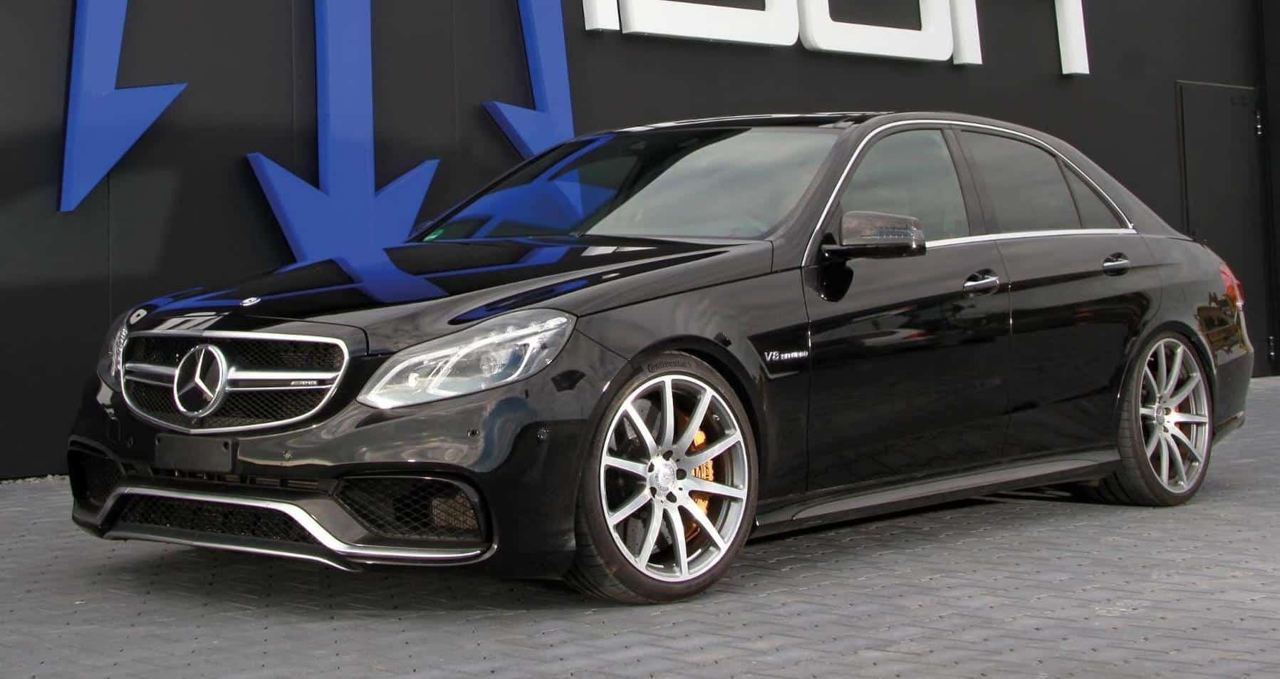 Un Mercedes-AMG E63 S más potente que un Bugatti Veyron ¡Más de 1.000 CV bajo el capó!