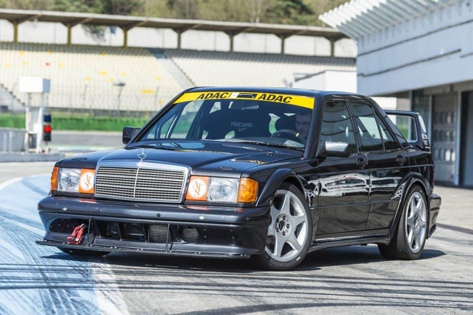 Mercedes-Benz echa de menos el 190 E 2.5-16 Evolution II ¡Y ha construido uno nuevo!