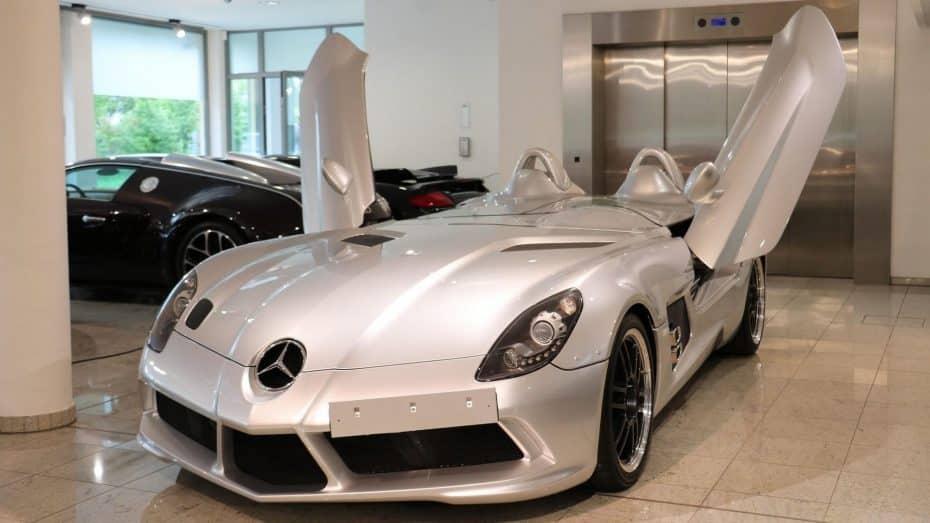 ¿Es el Mercedes-Benz SLR Stirling Moss el coche de tus sueños? Ahora hay uno a la venta y puede ser tuyo…