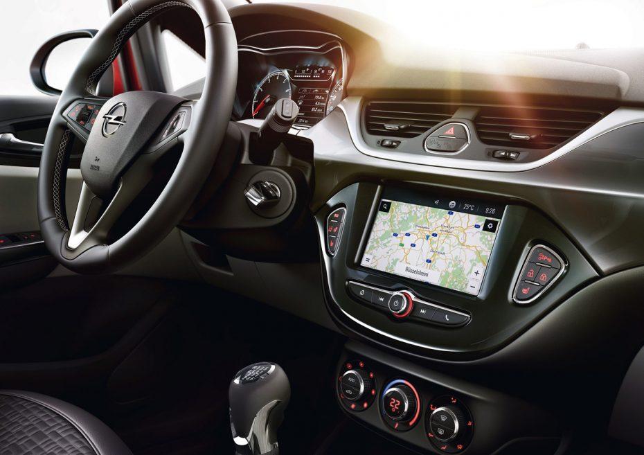 Los Opel Karl, Adam y Corsa estrenan navegador integrado: IntelliLink 4.0