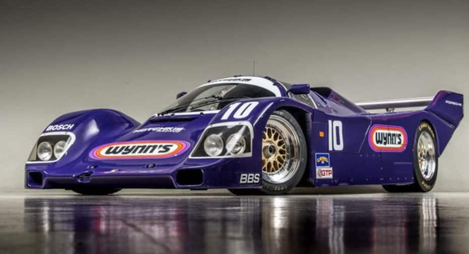 Si andas buscando un Porsche 962 este puede ser tuyo por poco más de un millón de euros