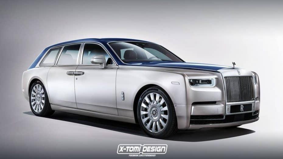 """Pues la versión """"Wagon"""" del Rolls-Royce Phantom tiene su puntillo…"""