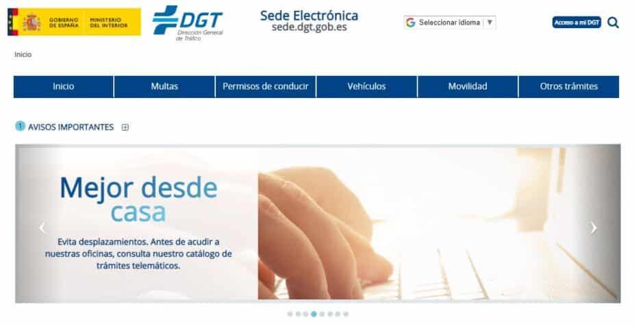 Cómo usar la Sede Electrónica de la DGT y no morir en el intento